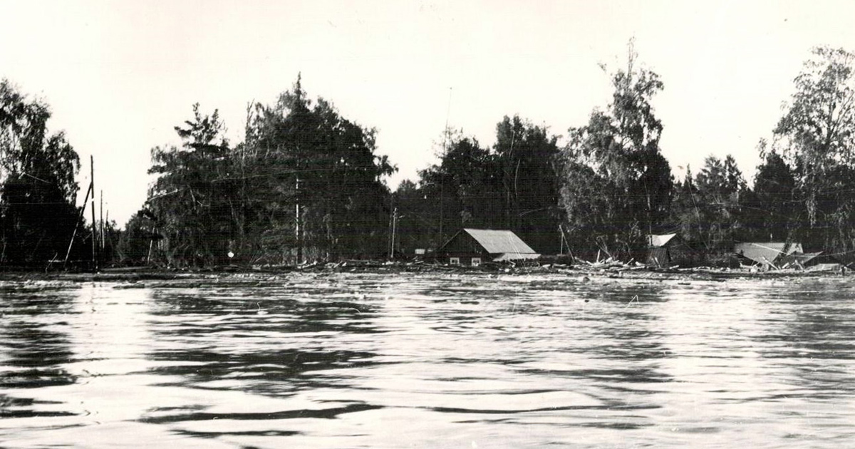 Наводнения в Иркутской области: что писали газеты о самых мощных паводках в истории - Верблюд в огне