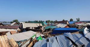 «Мы потеряли все»: жители Тулуна — о том, как они переживают наводнение - Верблюд в огне