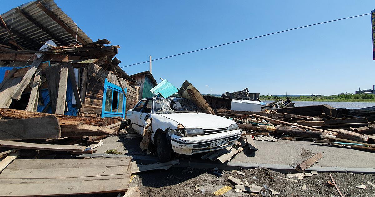 «Такое чувство, будто я в этом страшном бедствии потерял ребенка»: как предприниматели из Тулуна лишились своего бизнеса из-за наводнения