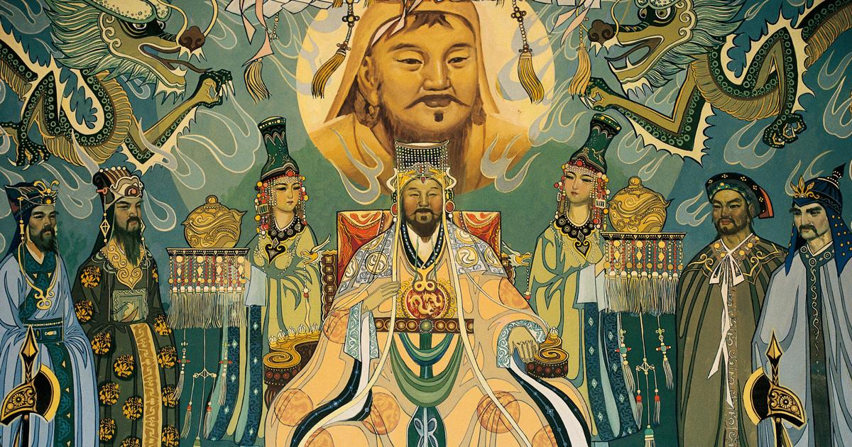 В какого бога верил Чингисхан?