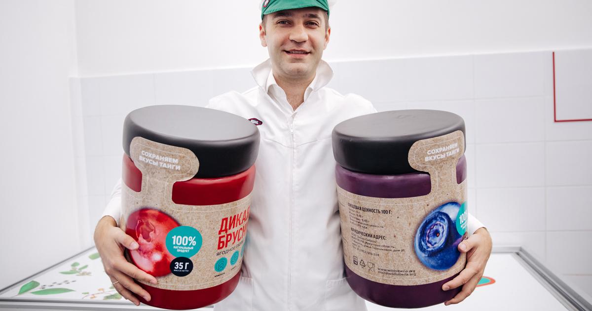 «Дикая Сибирь»: как иркутские предприниматели изобрели новый продукт и зарабатывают на дикой ягоде