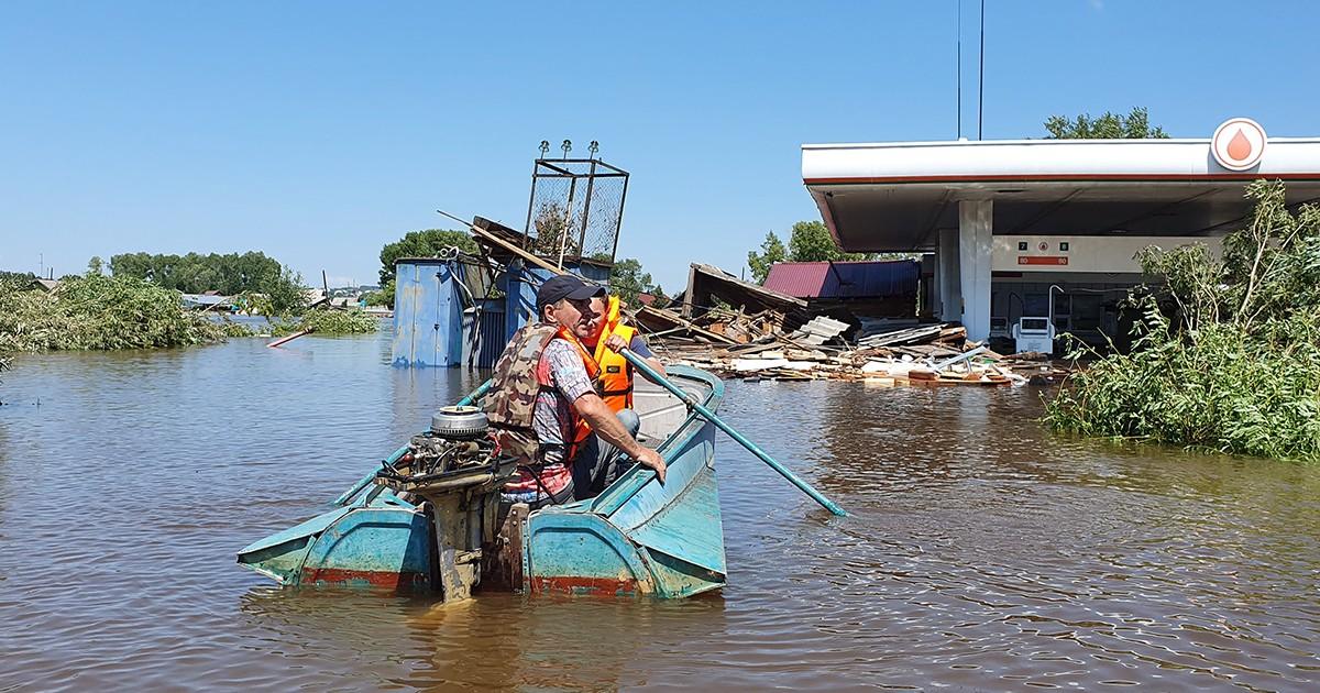 Бизнесмены из Тулуна пожаловались генпрокурору Чайке на потерю работы из-за наводнения
