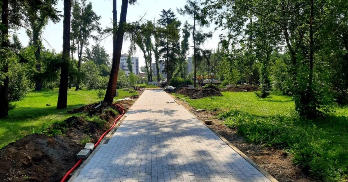 Мэр Иркутска пообещал завершить реконструкцию аллеи «Иерусалимской горы» до конца года