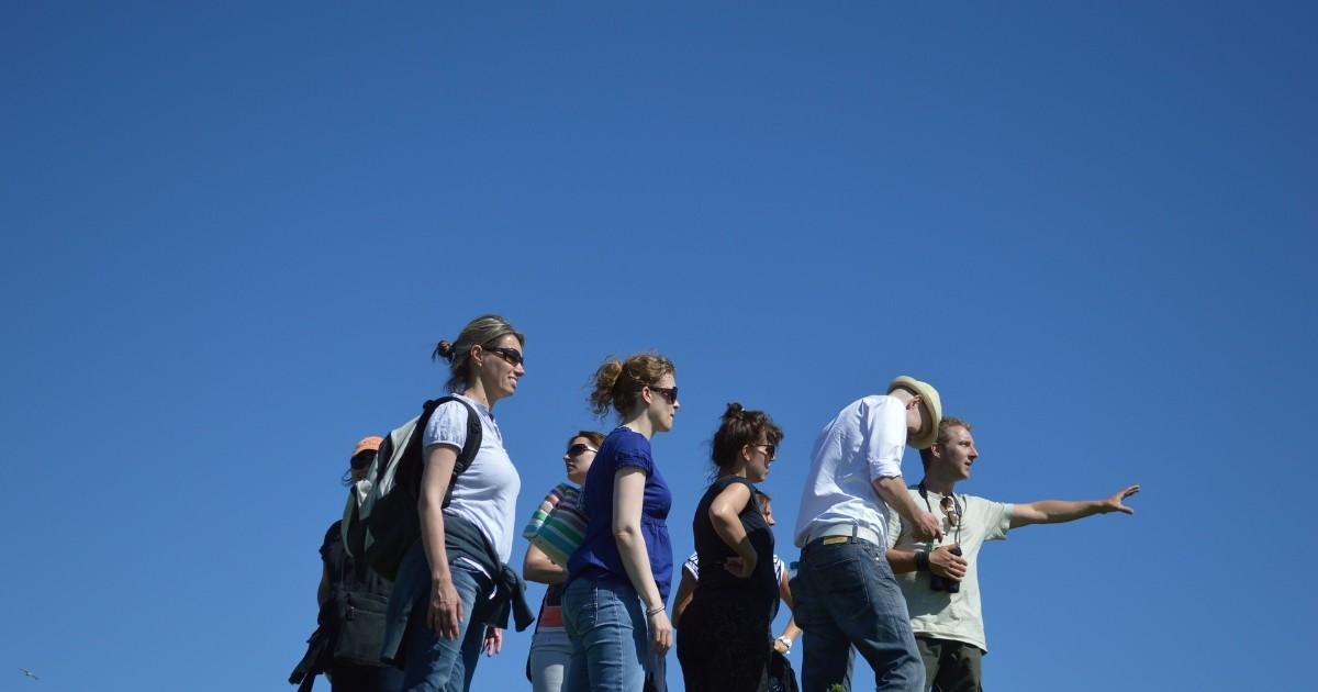 В Иркутске пройдет пешая экскурсия по городу.