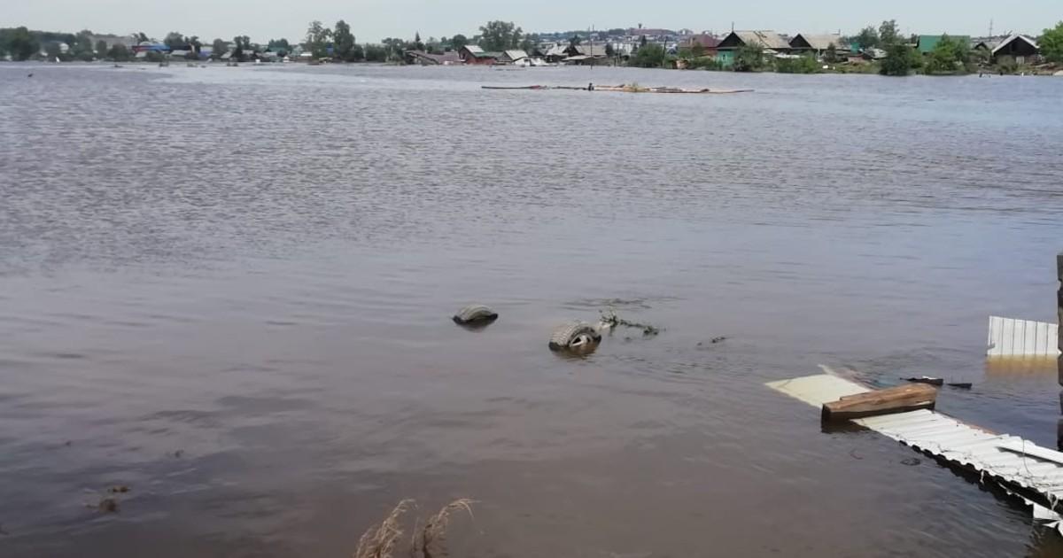 Власти Иркутска ввели в городе режим повышенной готовности из-за паводков