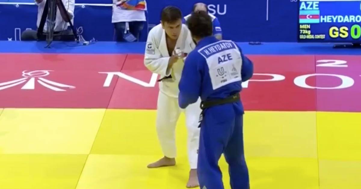 Иркутский дзюдоист завоевал две золотые медали на Всемирной летней универсиаде