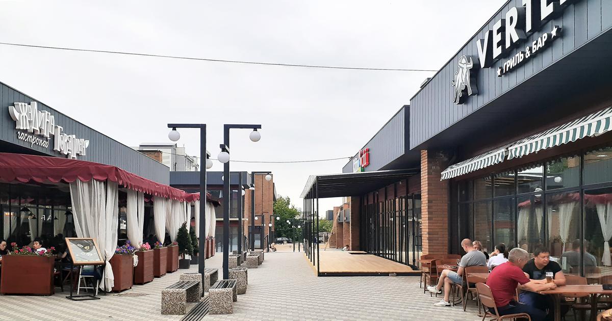 Ресторанный квартал: как на месте пустыря возникла точка притяжения горожан