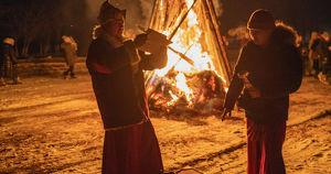 Костер царя Ада в старейшем дацане Иркутской области. Как «Верблюд» встретил Сагаалган 2020 года
