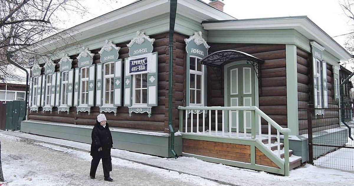 В Иркутске закончили реставрацию деревянной усадьбы Локуциевских.