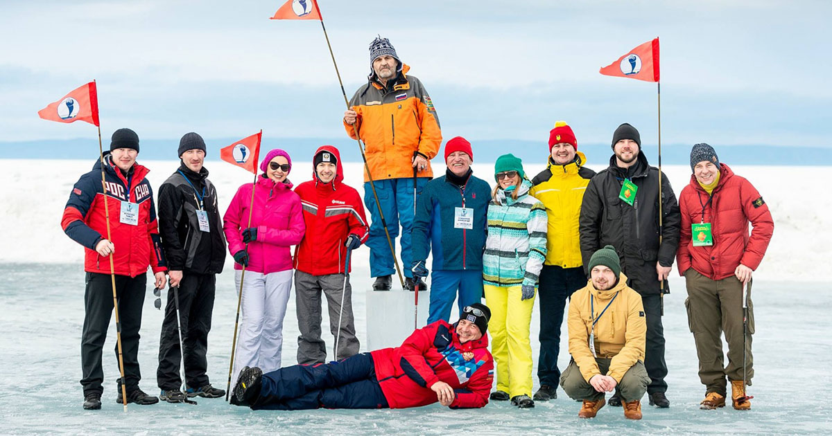 Кубок мира по ледовому гольфу проходит на Байкале. Финал — 8 марта в Листвянке