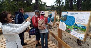 Экологическая тропа и смотровые площадки. Как благоустроили Сарайский пляж? - Верблюд в огне