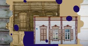Фото: исторические дома Иркутска до и после «Фасадника» - Верблюд в огне
