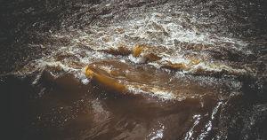 В Ангару попали сточные воды из-за аварии на станции «Водоканала»