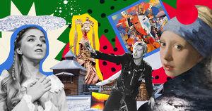 Планы на январские каникулы: встречи с Дедом Морозом, новогодние мастер-классы и новое британское кино