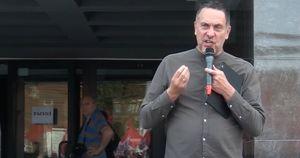 На журналиста Максима Шевченко составили протокол за участие в иркутском митинге