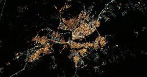 Фото: космонавт сфотографировал с борта МКС Байкал и Иркутск