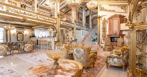 The Sun рассказала о «позолоченном дворце» в пригороде Иркутска за 215 млн рублей