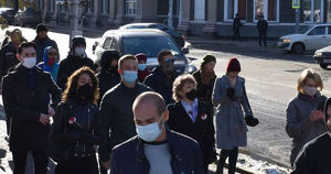 Суд оштрафовал иркутского активиста за марш в поддержку Хабаровска и Беларуси