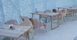 В Приангарье открыли ресторан на льду Байкала