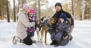 История питомника Haski in Forest: 60 собак, двое детей и одна цель