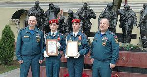 Кадеты из Братска спасли 14 детей во время пожара в московском отеле