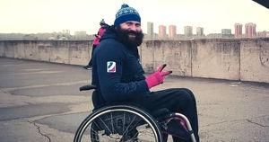 Путешественник из Ачинска доедет до Байкала на инвалидной коляске