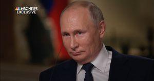 Из расшифровки интервью Путина NBC News на сайте Кремля пропали упоминание «Медузы»* и фраза про Навального