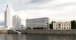 Компания Дерипаски начала строить в Иркутске головной офис за 500 млн рублей