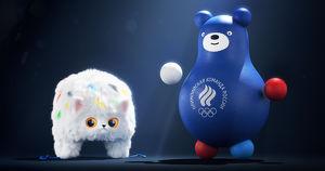 Российская сборная показала талисманов на Олимпиаде в Токио. Ими стали Мишка-неваляшка и Шапко-кот