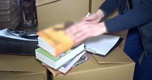 Курганская полиция изъяла 50 тысяч контрафактных книг про Гарри Поттера в переводе «Росмэн»