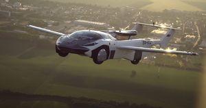 Видео: летающий автомобиль AirCar совершил первый междугородний перелет