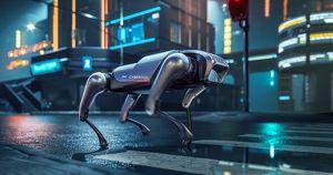 Видео: Xiaomi представила робопса CyberDog