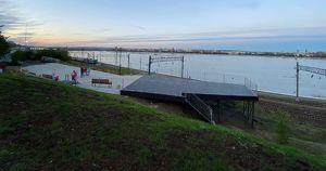 В Иркутске сделали смотровую площадку с видом на Ангару