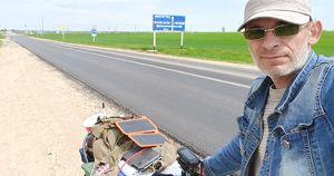 Слабовидящий путешественник добрался до Иркутска из Краснодарского края